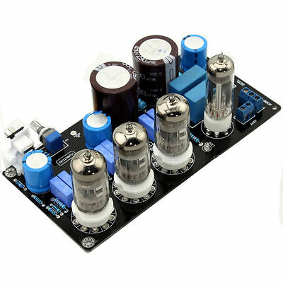 6Z4 +6N4 tube AMP Kit Preamplifier Assembled Board