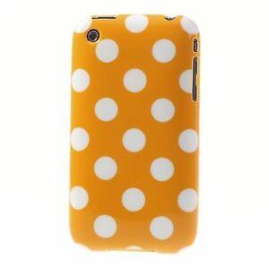 Details about TPU Étui pour Téléphone Portable Coque Pois Housse Sac Apple IPHONE 3 3G 3GS