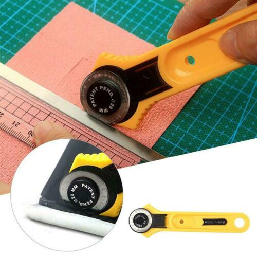 28//45mm Circular Rotary Cutter Safe Fabric Leather Quilt Cutting Tool
