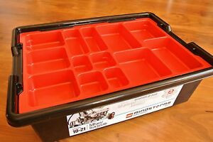 Lego Storage Box Bin for Lego Bricks PiecesToys Parts Lego
