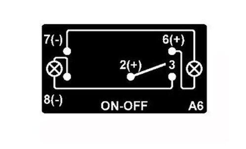 POLARIS RZR 800 XP900 Dual BackLit GREEN BURN YA/' BASTARD Rocker Switch ON OFF