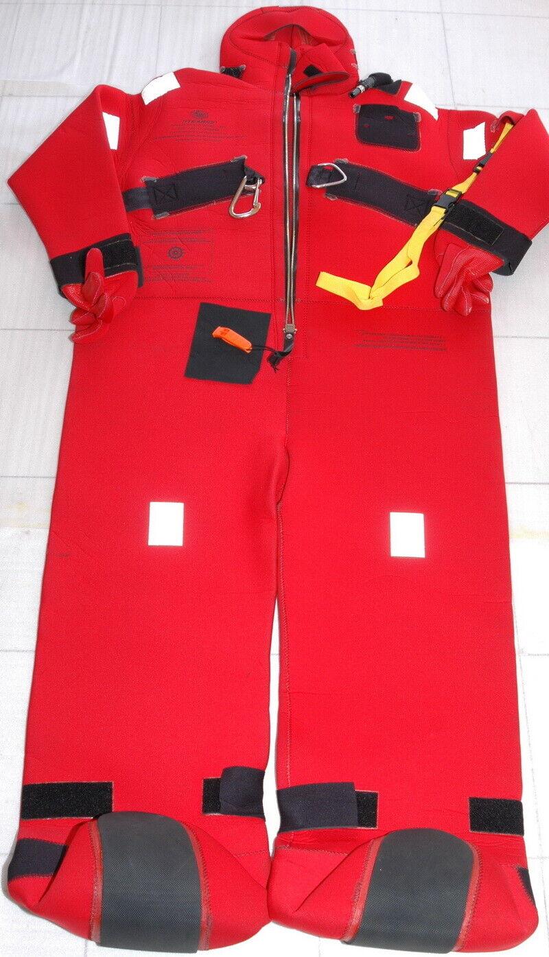 Stearns I590 USCG,Solas Overafmeting Jumbo Immersion suit Ongebruikte Uitstekend-nieuwe 13