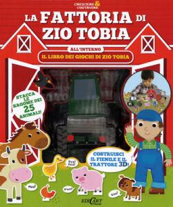 La-fattoria-di-zio-Tobia-Crescere-amp-costruire-Libro-con-gadget-Nuovo