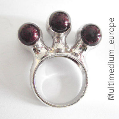Designer Silber Ring Modernist 70er Jahre Silver Ring 70s
