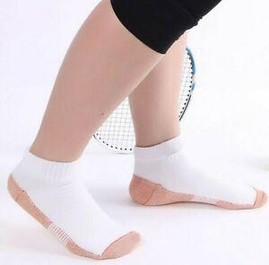 antibakterielle-Kupfer-Socken-Sneaker-verhindert-Geruch-Bakterien-Pilze-NEW