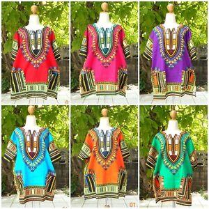 DRESS-AFRICAN-DASHIKI-SHIRT-KAFTAN-BOHO-HIPPIE-GYPSY-FESTIVAL-TOP-UNISEX-SIZE56-034