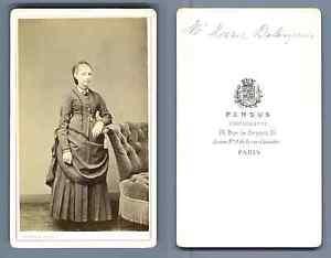 Chargement De Limage En Cours Persus A Paris Jeune Fille CDV Vintage Albumen