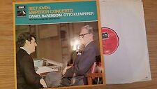 BEETHOVEN KLEMPERER BARENBOIM - EMPEROR CONCERTO - NPO - ASD2500 -LP