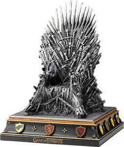 game of thrones iron throne 7 5 hand painted bookend