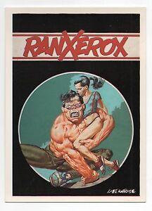 Carte-postale-LIBERATORE-Ranx-1-Editions-Aedena-n-15-1-1985-NEUF