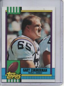 6b9148dc Details about 1990 TOPPS #107 GARY ZIMMERMAN MINNESOTA VIKINGS (HALL OF  FAMER) FREE SHIPPING