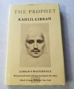 Details About The Prophet Kahlil Gibran Hardcover Dust Jacket Book Knopf 1996