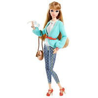 2013 Barbie Style Midge Doll In Polka Dot Jeans & Sweater Fully Poseable