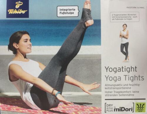 TCM Tchibo Damen Yogatight Yogahose Sporthose Gymnastikhose Turnhose Fitnesshose