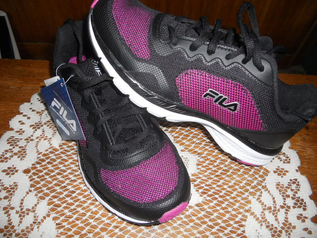Fila Ladies Memory Showcase 3 Tennis Athletic Running Shoes Comfortable Great discount