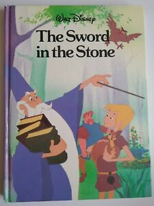 The Sword In The Stone Walt Disney 1987 Kids / Children's - Large Classic Book