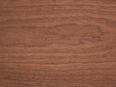 "Exotic Crown Cut Sapele Wood Veneer Paper Backer Backing 1' X 2' (12"" x 24"")"