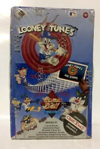 1990-Upper-Deck-Comic-Ball-Looney-Tune-series-1-Card-Box-36-packs-Factory-Sealed