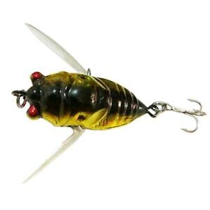 1pcs Cicada Bass Insect Fishing Lures 4cm Crank Bait Floating SALE Tackle