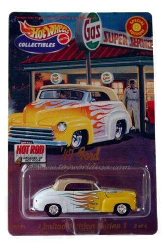 Ed 2000 Hot Wheels /'47 Ford Ltd Hot Rod 4 Decades of Hot Rods Ser1 2OF4