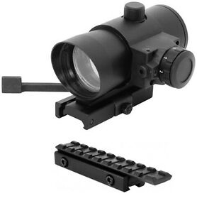 Tactical QD Red Dot Scope w/ Dovetail Rail Mount + Red Laser Fits Henry 22 Rifle