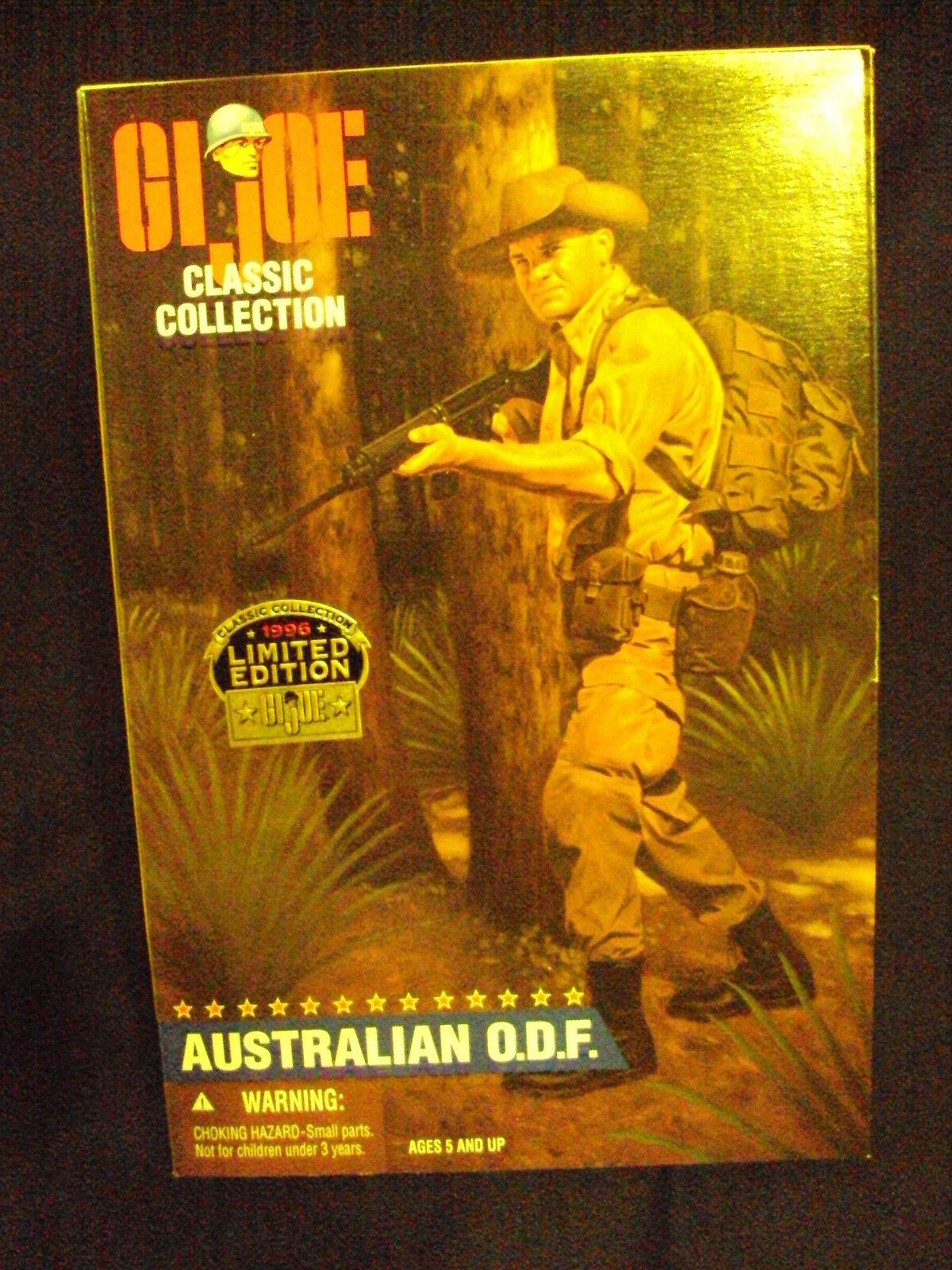GI Joe 12     AUSTRALIAN O.D.F. Limited Edition - Brown Hair c58952