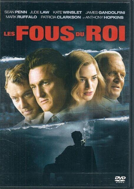 DVD ZONE 2--LES FOUS DU ROI--PENN/LAW/WINSLET/GANDOLFINI/HOPKINS/RUFFALO