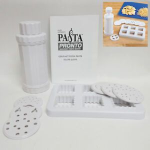 Fresh-Pasta-Maker-Roller-Machine-Spaghetti-Noodle-Ravioli-Cutter-Kitchen-Kit-New