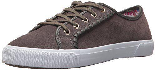 Jack Rogers Damenschuhe Carter Waterproof Suede Sneaker- Pick SZ/Farbe.