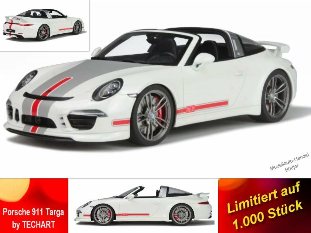 Porsche 911 Targa by TECHART limitée 1.000 pièces GT Spirit 108 in 1 18