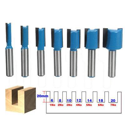 "Fresa rifilare a filo scanalature ø 1//4/"" Shank ~6mm Cutter Router Bit Trimming"