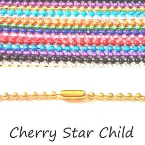 coloured-plated-annodized-metal-bead-chain-necklace-for-pendant-charm-findings