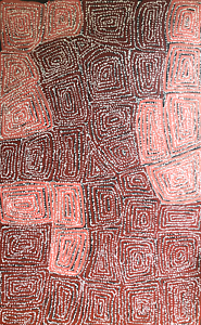 Aboriginal-Painting-by-George-Ward-Tjungurrayi-from-Australia-Famous-Artist