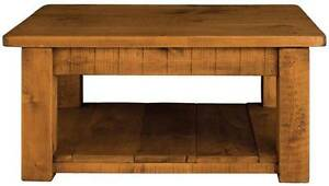 034-any-size-made-034-SOLID-WOOD-CHUNKY-RUSTIC-PLANK-PINE-COFFEE-TABLE-WITH-SHELF