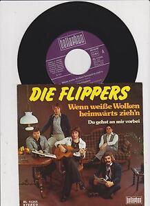7-034-Single-lt-lt-Die-Flippers-Wenn-weisse-Wolken-heimwaerts-zieh-n