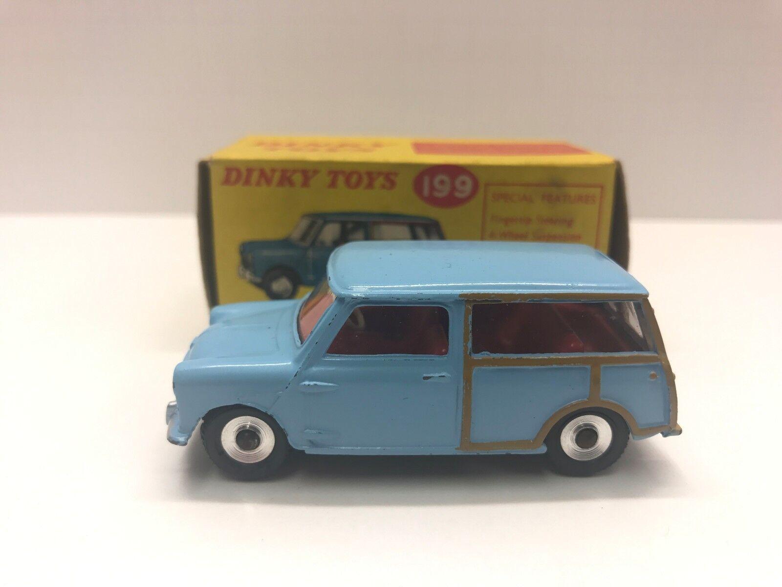 DINKY giocattoli modello NO. 199 AUSTIN SEVEN 7 COUNTRYuomo scatola originale
