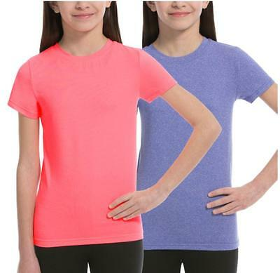 BOYS WEATHERPROOF 32 DEGREES COOL QUICK DRY SOFT T-SHIRT 2 PACK VARIETY SZ//CLR