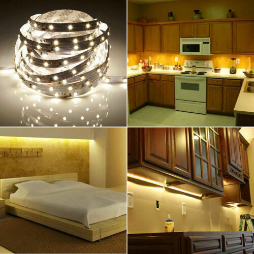 5M 10M 15M 20M 5050 3528 SMD RGB LED Strip Light Sound Activated Color Changing