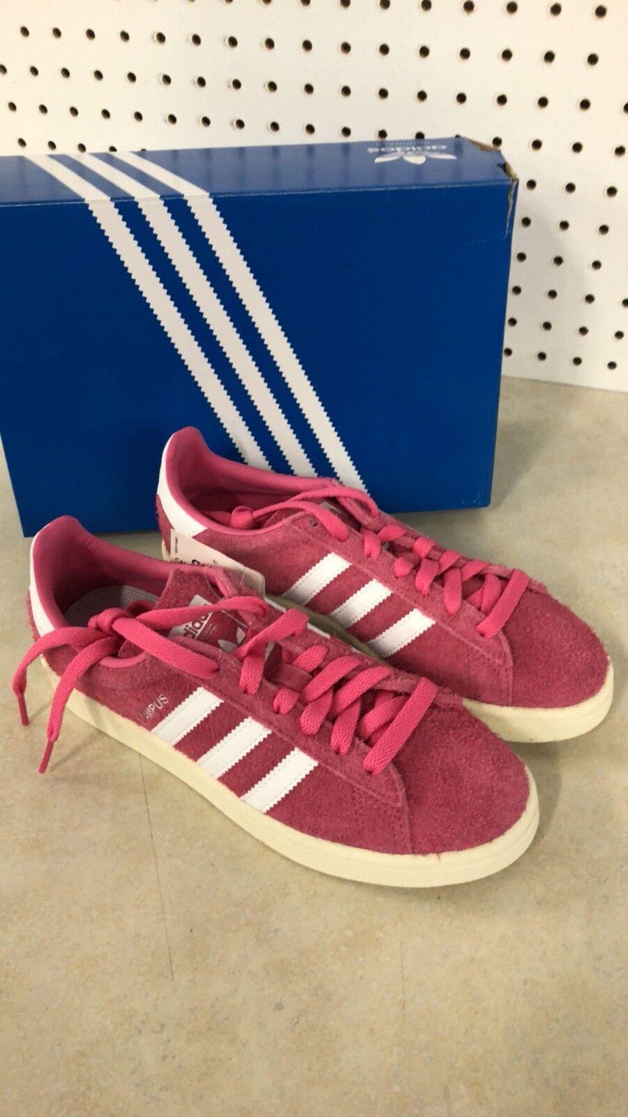 Adidas Campus BZ0069 Uomo US 5 Pink White Suede New Free Shipping