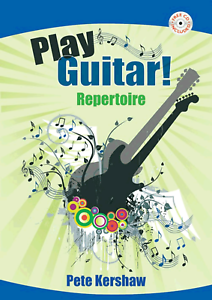 PLAY GUITAR REPERTOIRE PETE KERSHAW Easy Sheet Music Book /& CD