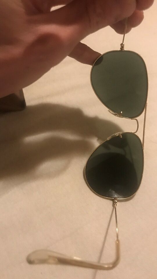 Solbriller herre, Rayban Guld