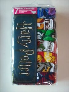 Harry Potter Underwear Underpants Girls 10 Pr Panty Select Sz 4 6 8 10 NIP