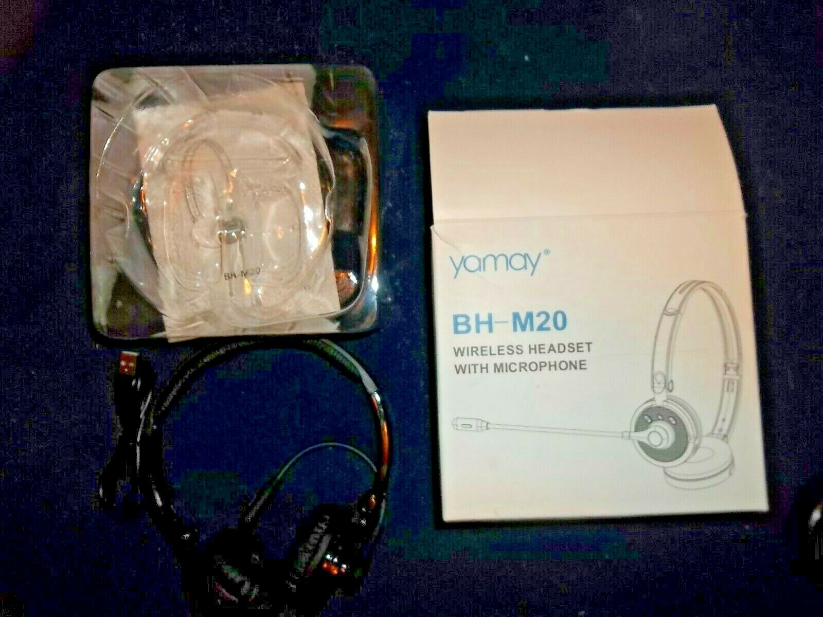 Yamay M98 Ym Black Over The Ear Headsets For Sale Online Ebay