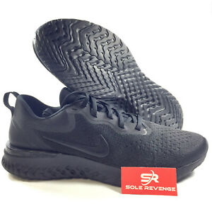 20549299cc43 Image is loading NIKE-ODYSSEY-REACT-O9819010-Triple-Black-Running-Shoes-