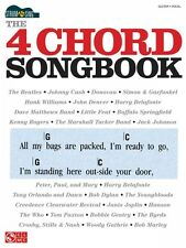 The 4 Chord Songbook Sheet Music Strum & Sing Series Easy Guitar Book  002501533