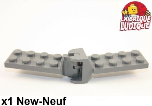 Lego 1x Hinge Hinge Flat 2x4 Articulated Articulated Dark Grey 3639 3640 New