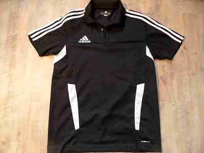 ADIDAS Funktionspoloshirt schwarz climalite Gr. S NEUw. KD717 | eBay