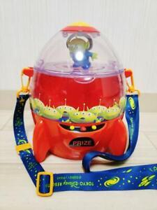 Tokyo Disney Resort Popcorn Bucket Little Green Men Alien Pizza Planet Toy Story