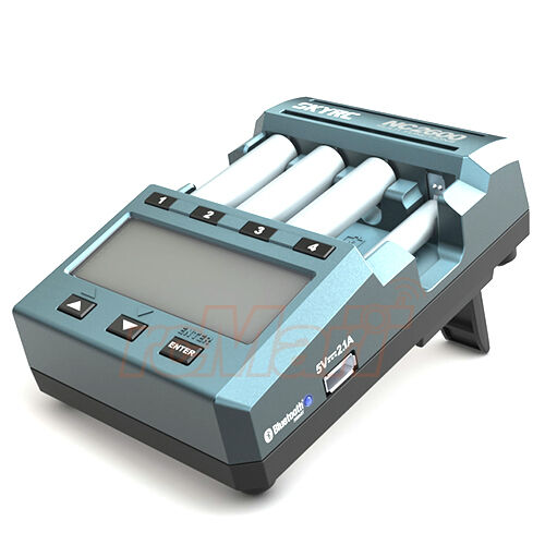 SKYRC NC2600 Smart AA AAA NiMH Batería Cargador azultooth enchufe de Reino Unido  SK-100113-04
