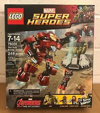 LEGO 76031 HULK BUSTER SMASH MARVEL SUPER HEROES RARE NEW SEALED PRE-OWNED